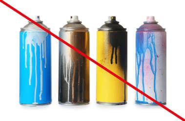gefährliche Abfälle bitte nicht in DER HAMBURG BAG entsorgen
